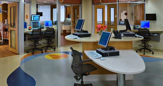 Workspace design similarities between healthcare and for Design office environment